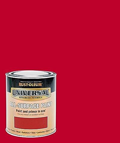 Rust-Oleum RO0030112F1 250 ml Universal Paint - Gloss Cardinal