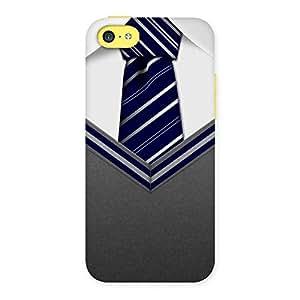 Premium Decent Student Grey Back Case Cover for iPhone 5C