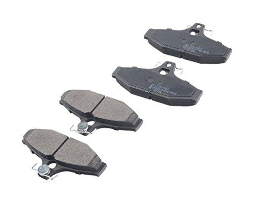 Preisvergleich Produktbild Bremsbeläge Hinten Daewoo Musso 1999-2000
