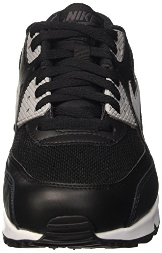 Nike Air Max 90 Essential, Baskets Basses Homme Noir (Black/Wolf Grey/Anthracite/White)