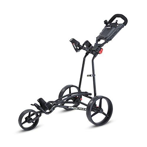 BigMax Ti 1000 Autofold+ Golf Trolley, unisex - erwachsene, Bigmax Ti 1000 Autofold +, schwarz