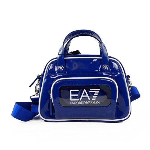 Borsa donna EA7 EMPORIO ARMANI, in vernice, blu royal art. 285366 6P289 (BLU ROYAL) BLU ROYAL
