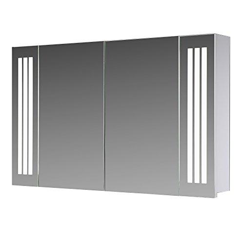 Spiegelschrank Design von Eurosan integrierte LED-Frontbeleuchtung