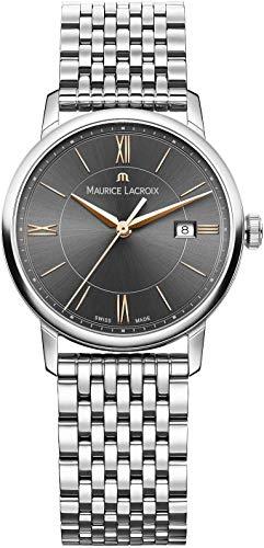 Maurice Lacroix EL1094-SS002-311-1 - Orologio da polso Donna, Acciaio inox, colore: Argento