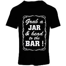 N4524F Camiseta mujer Grab a Jar and & head to the Bar!