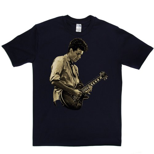 Stuart Adamson English Born Scottish Guitarist Tee T-shirt Marineblau