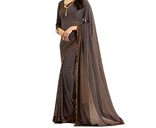 Traditional Fashion Georgette Sarees For Women With Blouse Piece(TFS1488)