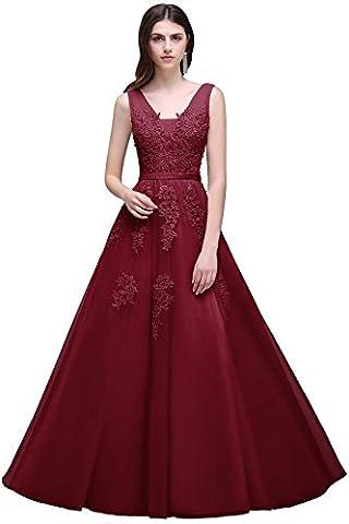 Babyonline Damen Etui Meerjungfrau Langes Ballkleider Abendkleider Mit Applikation