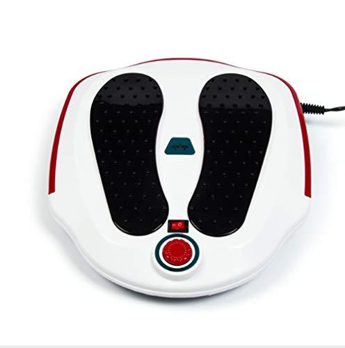 SNOWWOLF Fußmassagegerät Vibration Warm Fußmassagegerät Massage Fußmaschine Heizung Fuß Akupunktur Heizpunkte,White