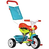 Smoby Toys-740401- Tricycle Be Move Confort, Tricycle Evolutif avec roues silencieuses, Bleu