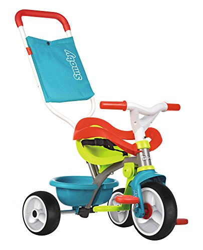 Smoby ,740401 - Tricycle Be Move Confort - Tricycle Evolutif avec Roues Silencieuses - Bleu