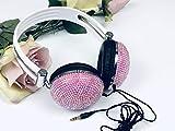 Best Headphones Blings - new ustyleco crystal diamante bling moonstone pink headphone Review