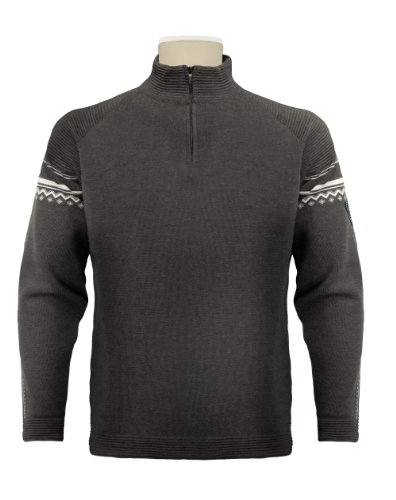 Dale of Norway Herren aktiven Pullover Teer Vig./Off White