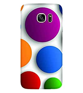 PRINTSWAG COLOUFUL BALL Designer Back Cover Case for SAMSUNG GALAXY S7