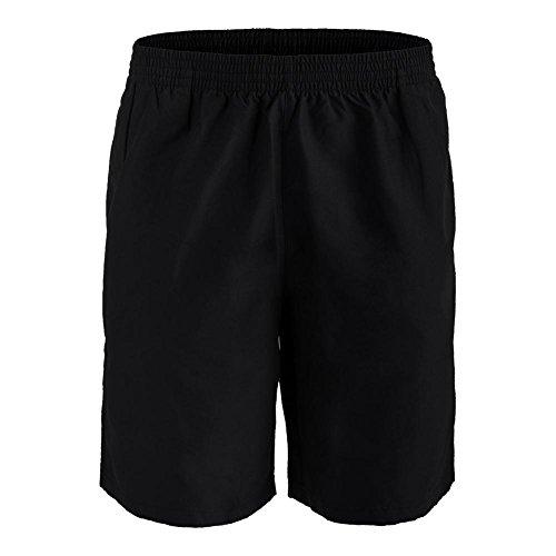Fila Mens Fundamental 7 Hard Court Tennis Shorts Black