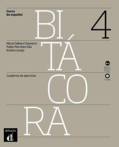 Bitacora: Cuaderno De Ejercicios + CD 4 (B1.2) por Federico Garcia Lorca