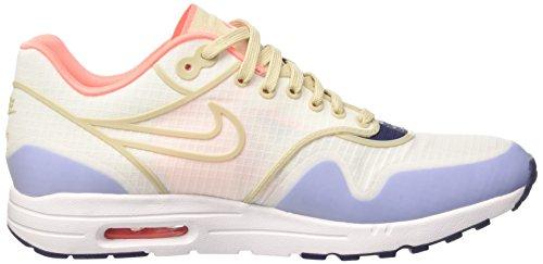 Nike Wmns Air Max 1 Ultra 2.0 Si, Scarpe da Ginnastica Donna Beige (Sail/Oatmeal/White/Lava Glow)