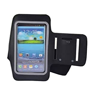 WaterProof Sport Gym Running Armband Protector Belt Soft Pouch Case Cover Holder for Samsung Galaxy S3 9300 S4 9500 (Black)