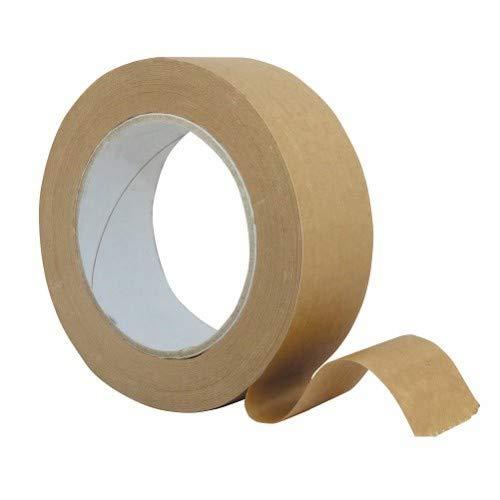 Braun Gummierung, Klebeband für Art & Bild Einrahmung 40mm (50Länge) -