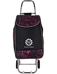 DE Brand Shopping Trolley Bag For Vegetable Market,Super Market/Mall-Flodable-Quality Luggage Bag And Wheels....