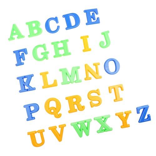 Toygogo 26 Stück Bunte Alphabet Brief Spielzeug Sprache Teaching Tool Für Kinder
