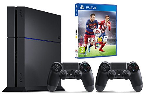 Pack PS4 1 To + Fifa 16 + 2ème manette