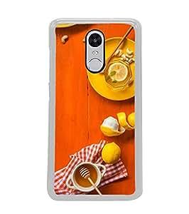 Fuson Designer Phone Back Case Cover Xiaomi Redmi Note 4 (2017 Edition) ( Tea With Hint Of Honey )