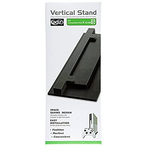 ADZ Xbox One S Vertical Stand, XBOX ONE SLIM Cooling Upright Base