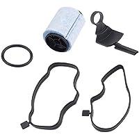 RoadRomao Coche plástico Separador de Aceite para VW para el Golf para Audi 036103464G Accesorios del
