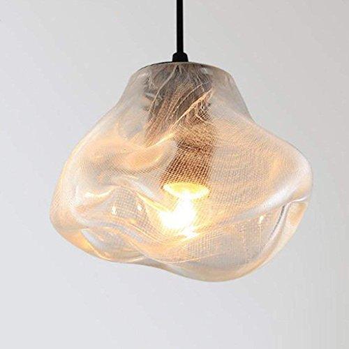 QAZ Nordic Kronleuchter aus Murano-Glas, Esszimmer Schlafzimmer Hochglanz Kronleuchter Kronleuchter Lampen moderne Loft Hängeleuchter Lichter leuchten
