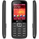 Micromax X742 Black + Red with Power Saving Mode