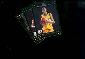 2007-08 Topps Seattle Supersonics Basketball Cards Team Lot : Kevin Durant, Green & Wilcox