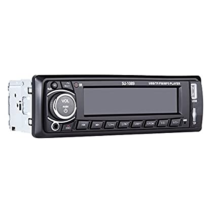 Ironpeas-Autoradio-mit-Freisprecheinrichtung-BluetoothUSB-SDAUX-FM-Single-Din-Version-Autoradio-MP3-Player-Fernbedienung-enthalten