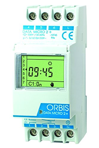 Orbis Data Micro-2 Plus 230 V Interruptor horario