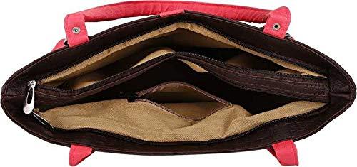 Best college bags for girl in flipkart in India 2020 JSPM® Girl's & Women's Handbag Pink&Blue (SP-1001) Image 4