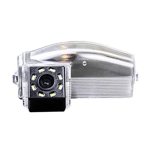 HD 720p Farb Rückfahrkamera integriert in die Kennzeichenbeleuchtung Kamera Einparkhilfe mit Distanzlinien für Mazda 3 Mazda 2 Mazda3 Sport Mazda2 2009-2011