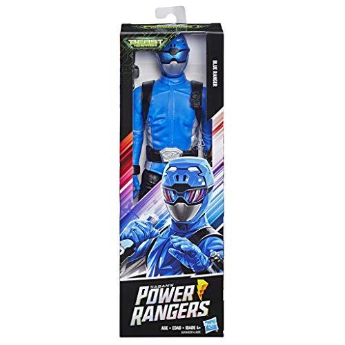 Power Rangers E5939ES0 Beast Morphers Blauer Ranger, 30 cm große Actionfigur TV-Serie