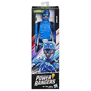 Power Rangers - Figura de 30cm Ranger Azul de Beast Morphers (Hasbro - E5939ES0)