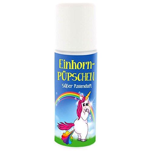 Raumduft - Raumspray Einhorn Püpschen mit Zuckerwatteduft 50ml