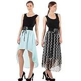 Raabta Fashion Women's Dress (Pack Of 2)...