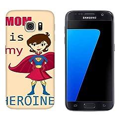 Idea Regalo - Generico Cover Samsung Galaxy S7 Festa della Mamma My Heroine/Custodia Stampa Anche sui Lati/Case Anticaduta Antiscivolo AntiGraffio Antiurto Protettiva Rigida