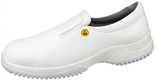 Abeba 36740-37 Uni6 calzado mocassin ESD, talla 37, color blanco