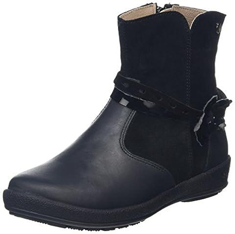 Garvalin Mädchen 161801 Kurzschaft Stiefel, Black (Negro), 31 EU
