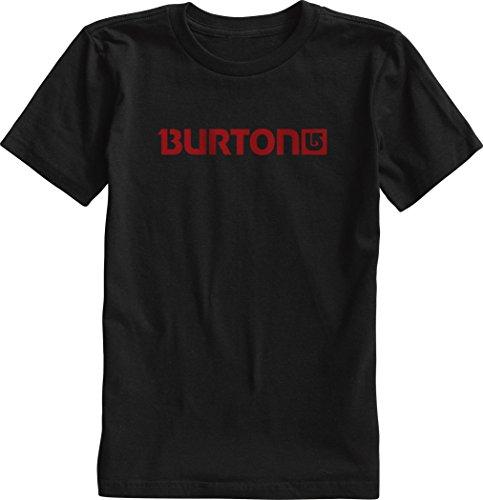 Burton, Maglietta a maniche corte Bambino Logo Horiztl, Nero (True Black), S