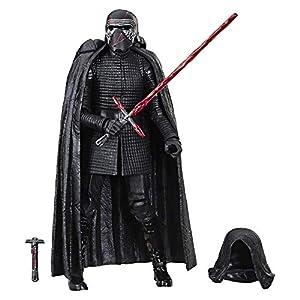 Star Wars - Figura de acción del Líder Supremo Kylo Ren de Black Series (Hasbro E4076EL2)