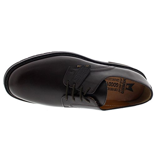 Mephisto Mens Marlon Leather Shoes Dark Brown