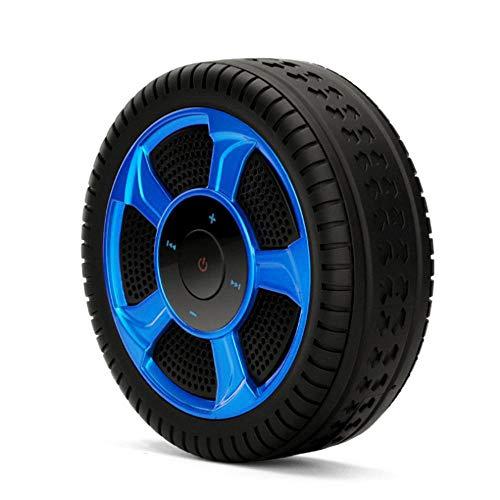 ZENWEN Auto Reifen Modellierung Wireless Bluetooth Lautsprecher, Radsport Mountain Bag 520 kreative kleine Audio Home Desktop Portable Stereo-s Notfallbedarf mit AUX/USB/TF-Karten-Slots (blau) - 520 Bluetooth