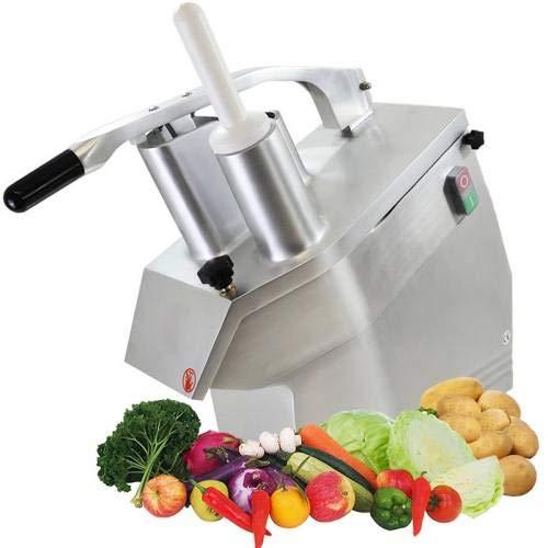 Equipementpro - Robot Coupe légumes Electrique en inox + 5 disques - râpe professionnelle - couteau électrique