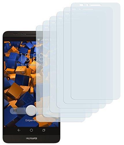 mumbi Schutzfolie kompatibel mit Huawei Ascend Mate 7 Folie klar, Bildschirmschutzfolie (6x)