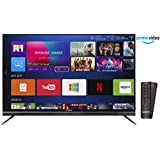 Shinco 124 cm (49 Inches) 4K UHD Smart LED TV S50QHDR10 (Black) (2018 model)
